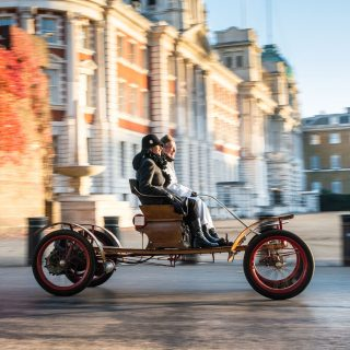 Watching Edwardian Machines Cross London Is A Beautiful Sight
