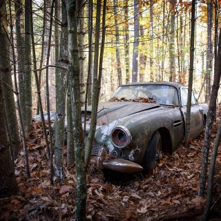 Is Farm Find The New Barn Find? This Aston Martin DB4 Makes A Strong Case