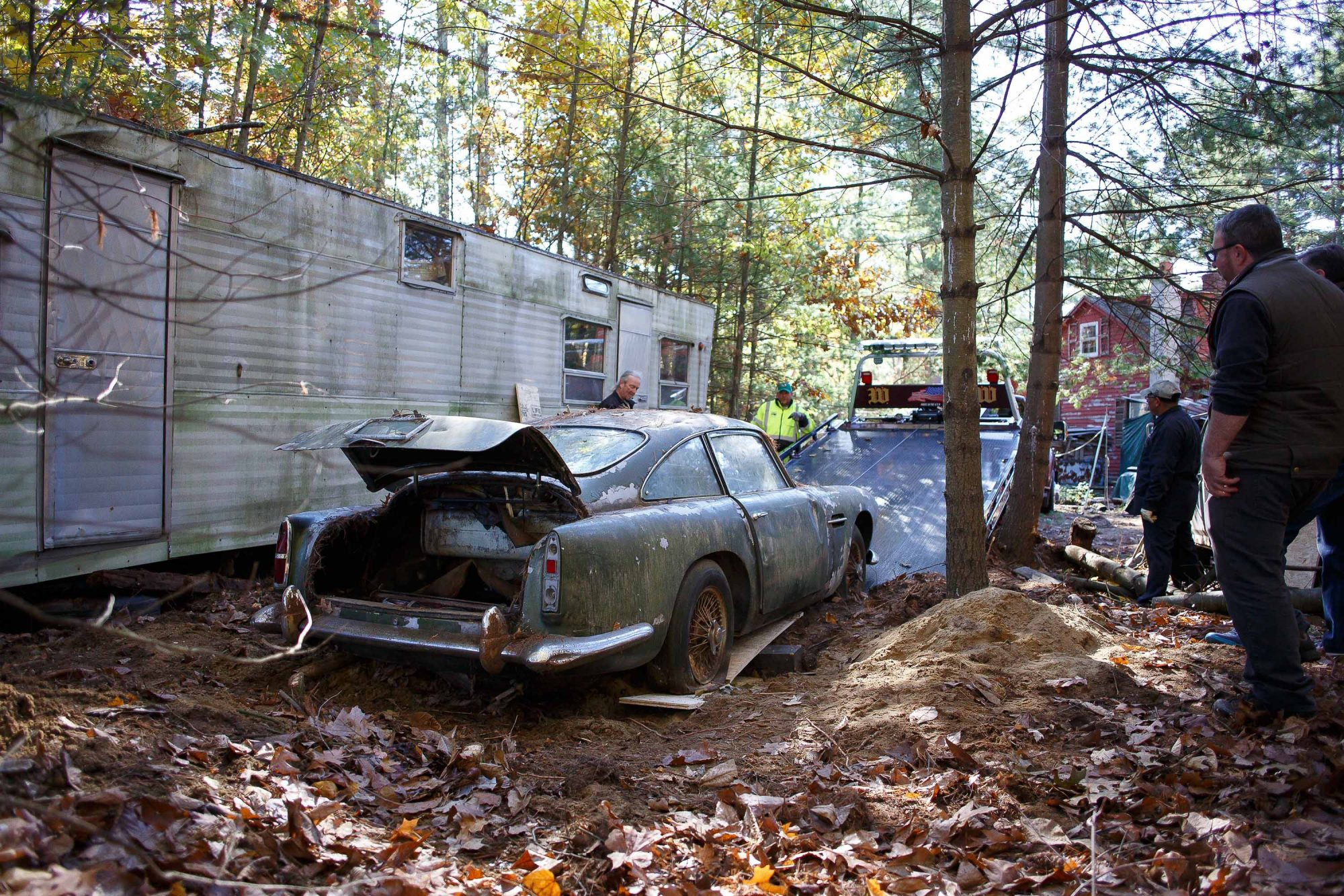 Is Farm Find The New Barn Find This Aston Martin Db4