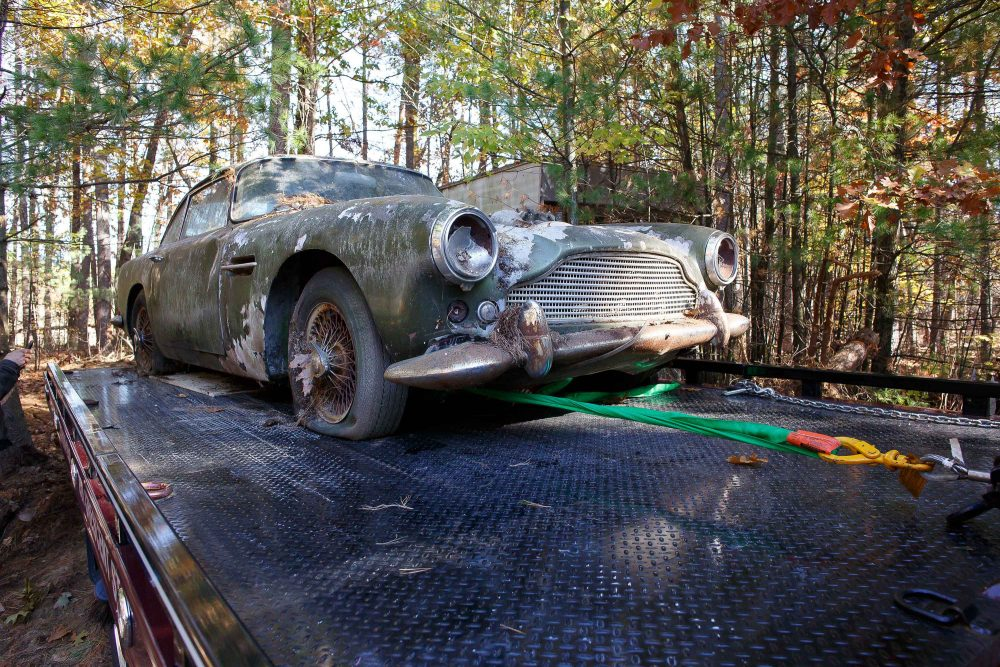 Tags Aston Martin DB4 Barn Find Farm Restoration