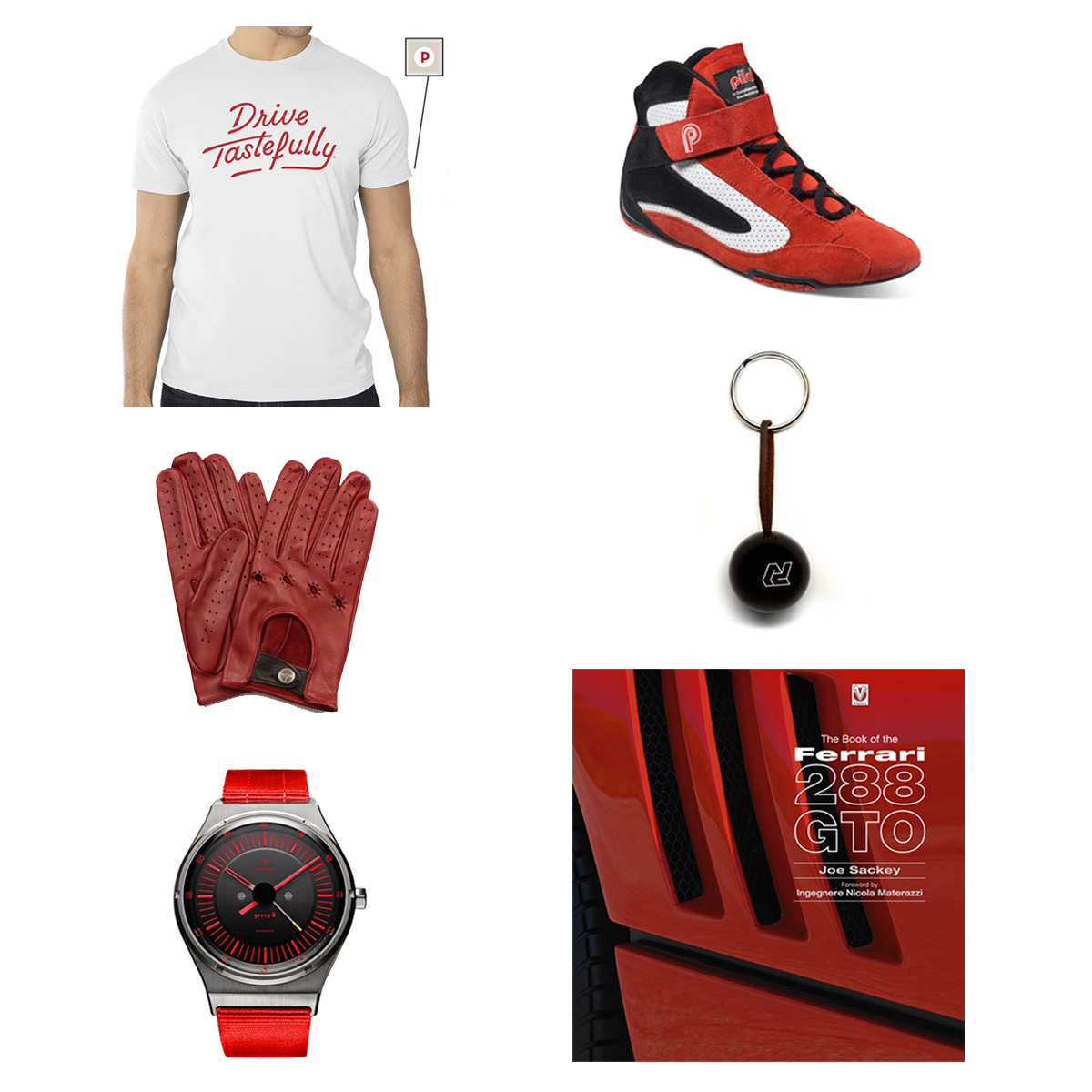 2016 Holiday Gift Guide #1: Rosso Corsa