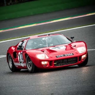 This GT40 Is Being Properly Driven In Anger By A Ford Executive