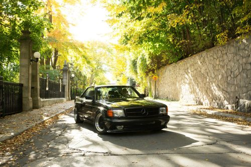 This Mercedes 560SEC Is Laying Low In Montreal • Petrolicious