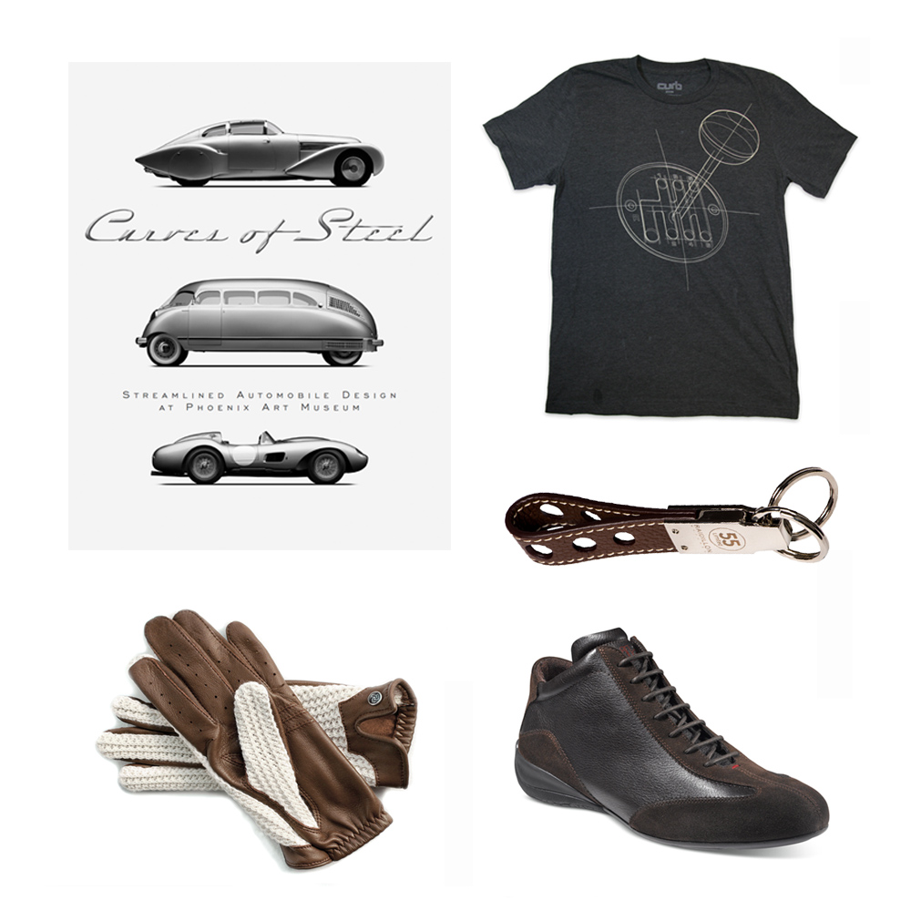 2016 Holiday Gift Guide #5: Leather & Steel