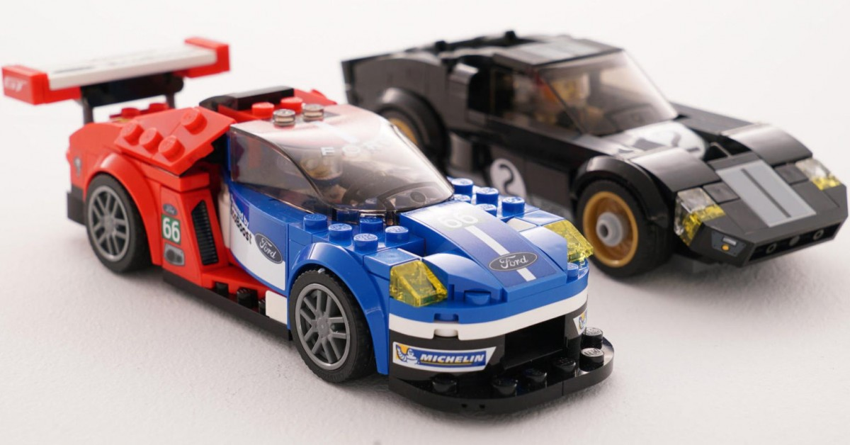 We Asked A Lego Designer How They Created The Ford Gt And Gt Models  E  A Petrolicious