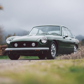 This MGB GT Is The BRG King Of San Luis Obispo