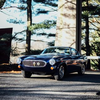 This Volvo P1800E Was A Gift For Stephen Landau's Wife, At First...