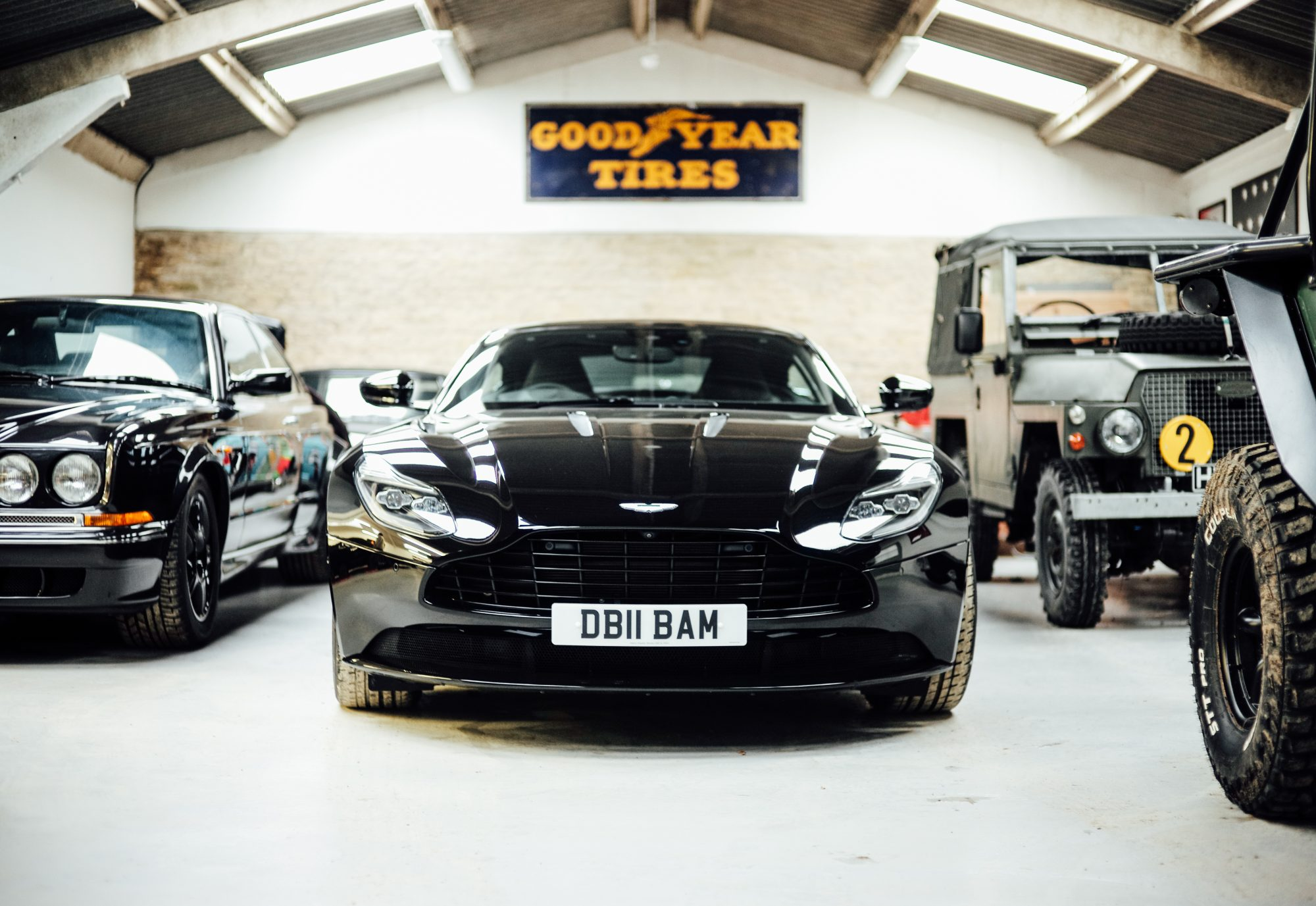 George bamford opens his garage doors to show us his for Garage auto star antony