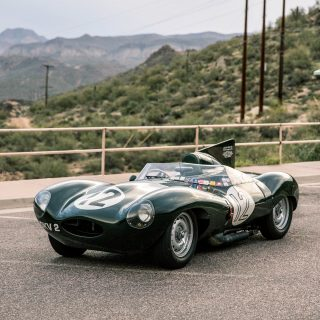 GALLERY: Behind The Scenes On Our 1954 Jaguar D-Type Film Shoot