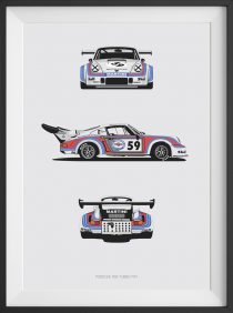 RSR Turbo Trilogy Print