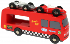 Wooden Race Car Transporter