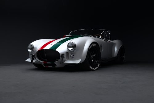 This Italian Themed Cobra Holds A 187mph Mojave Speed Record