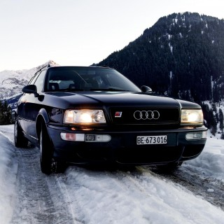 This Audi RS2 Utilizes Quattro In The Swiss Alps