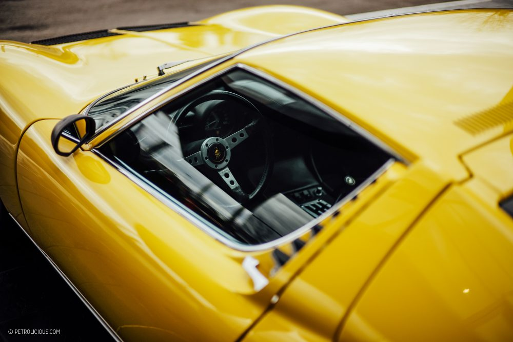 What It's Like To Drive A Lamborghini Miura On Rural Italian