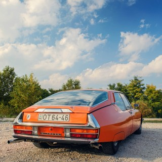 The Story That Lead To This Unique Tangerine Citroёn