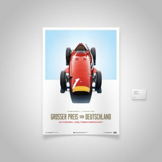 The Maserati 250F 1957 German Grand Prix Champion Poster Is Now Available In The Petrolicious Shop