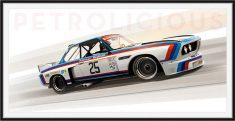 1975 BMW 3.5 CSL IMSA Limited Edition Print