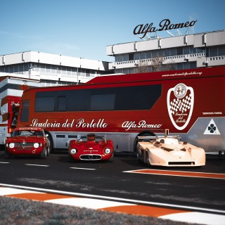 Alfa's Scuderia Del Portello Knows How To Celebrate In Style