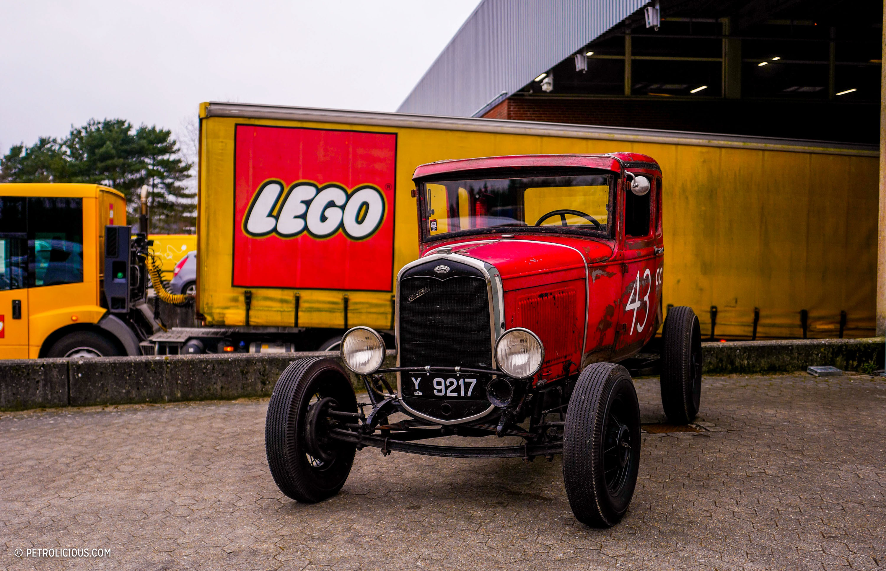 This LEGO Designer Drives Differently