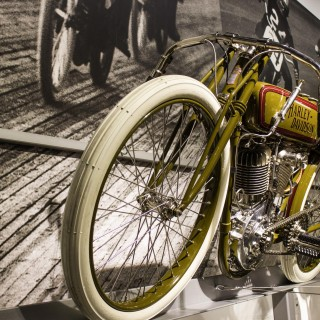 GALLERY: The Petersen Automotive Museum Is The Latest Battleground For Harleys And Indians