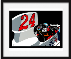 Speed Icons: James Hunt – Limited Edition Print
