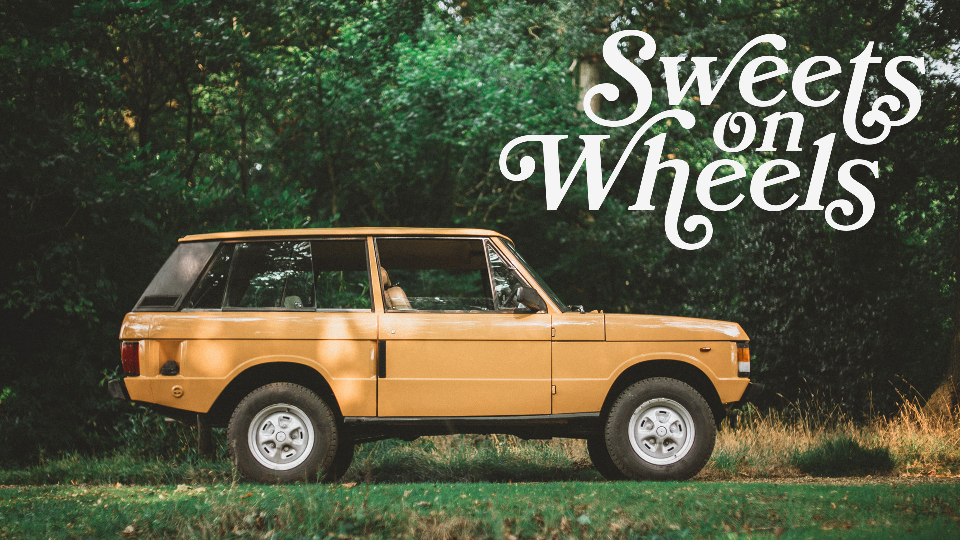 This 1981 Two Door Range Rover Is Sweets On Wheels