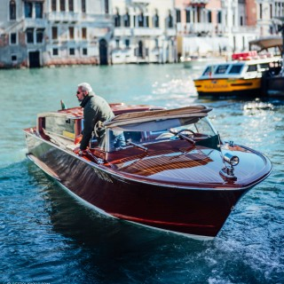 The Classic Mahogany Riva Limousines Of Venice
