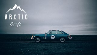 This MGB GT Is Sliding And Surviving In The Arctic