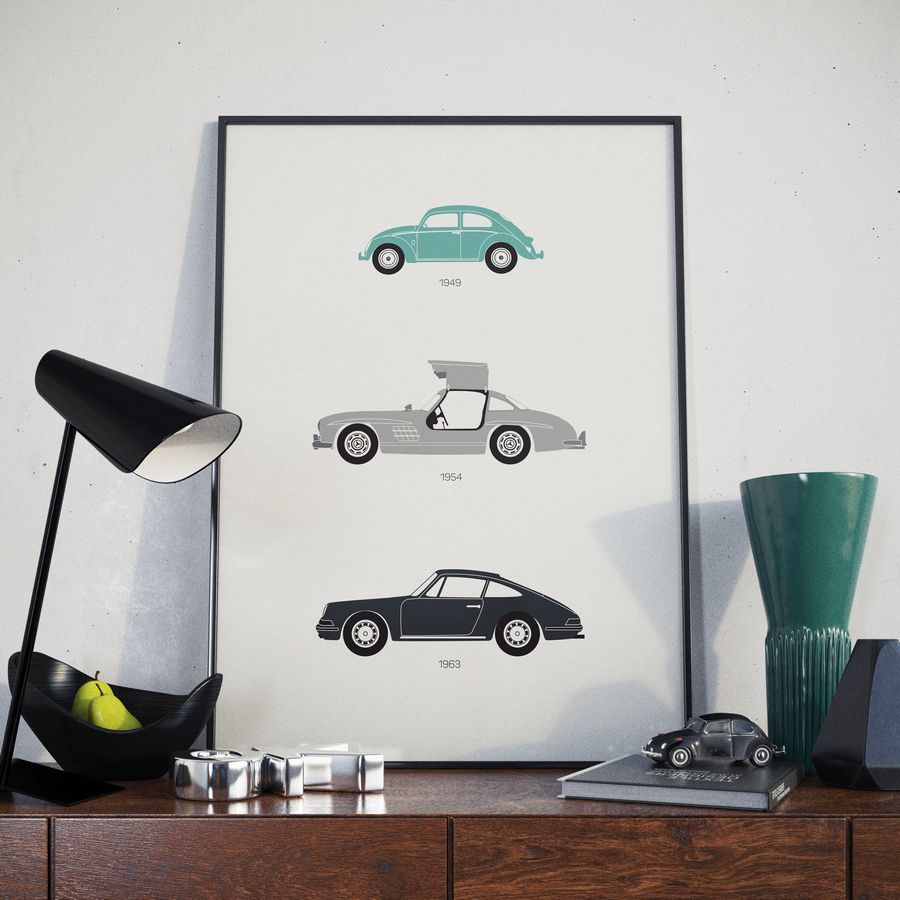 Rear View Prints' Artwork Is Now Available In The Shop