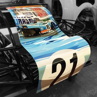 Joel Clark's Porsche pARTs 917 Doors Are Now Available In The Petrolicious Shop