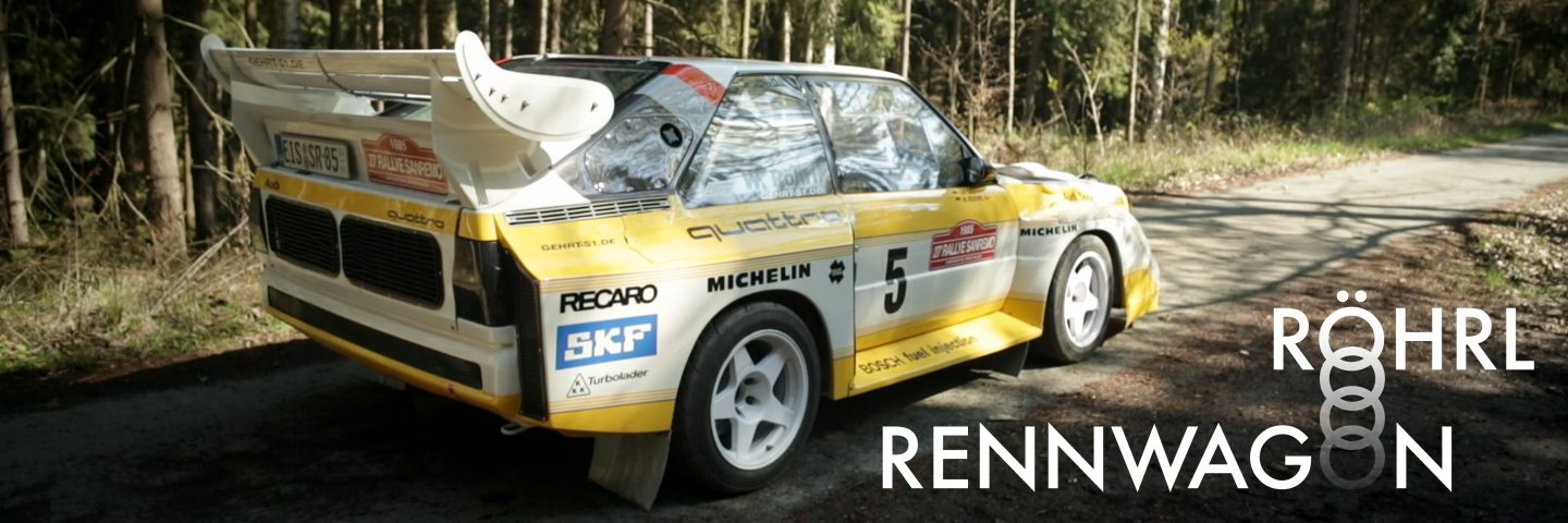 This Sport Quattro Rennwagen Replica Is A Tribute To Walter Röhrl And Rallying's Golden Era