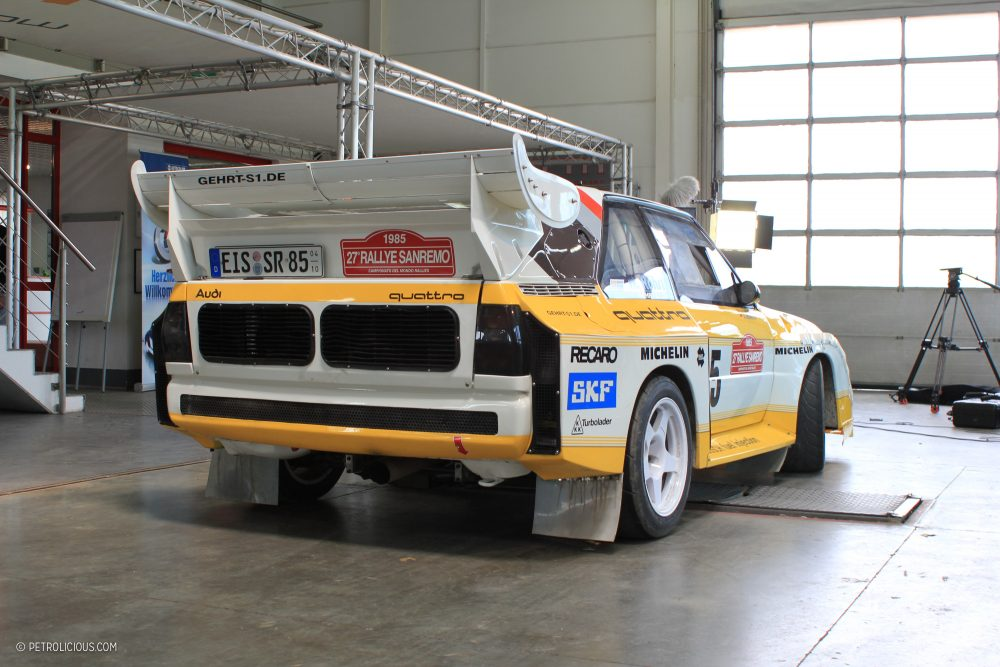 Gallery Behind The Scenes On Our Audi Sport Quattro Film Shoot