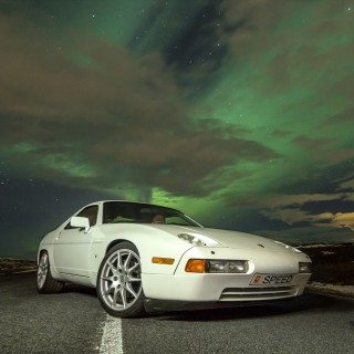 Achieving (Northern) Light Speed In An Icelandic Porsche 928