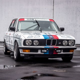 This E28 Group A Tribute Car Represents An Evolution That Looks To The Past
