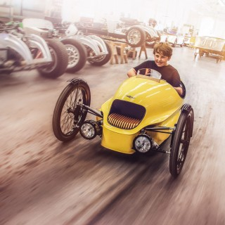 The Morgan EV3 Junior Is Here To Drive Petrolhead Kids Into The Future