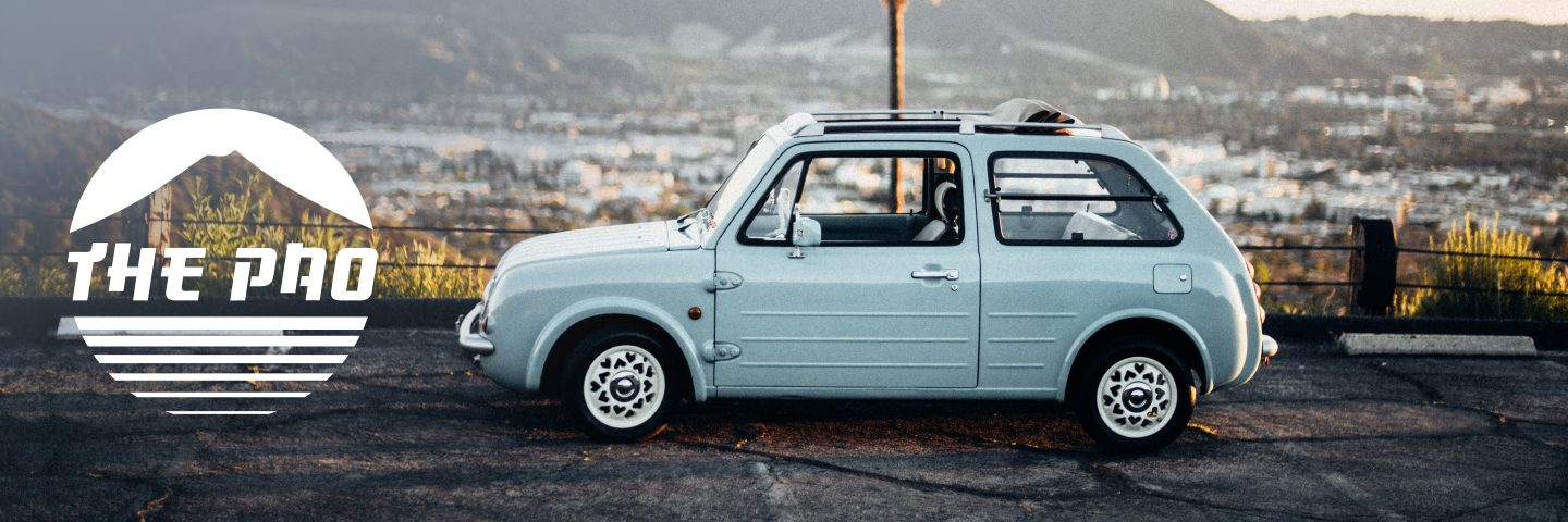 This Nissan Pao Isn't A Sports Car, Exotic, Or Pedigree Rich Racer, It's Just Different