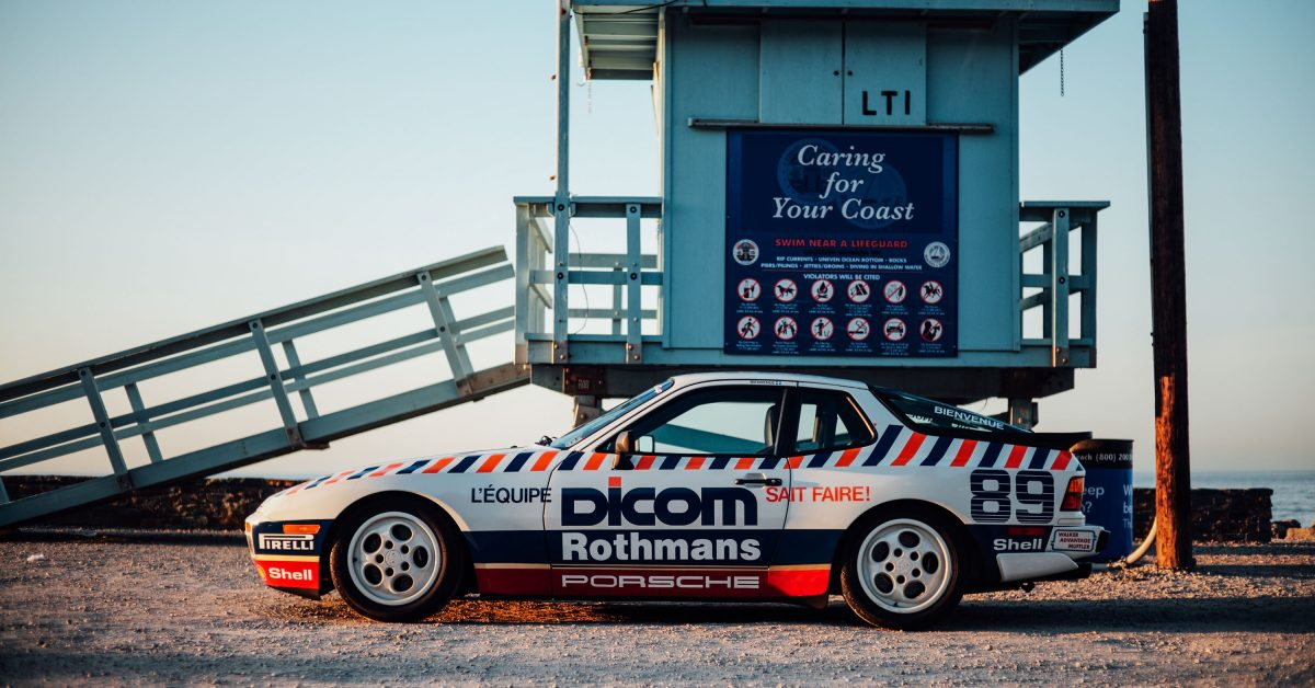 This 944 Turbo Cup Car Is Provenance Preserved