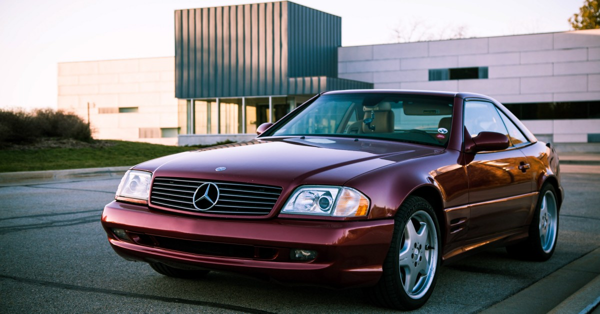 Wrecked Cars For Sale >> Proving Just How Modern Classics Can Be In A 2002 Mercedes-Benz SL500 • Petrolicious