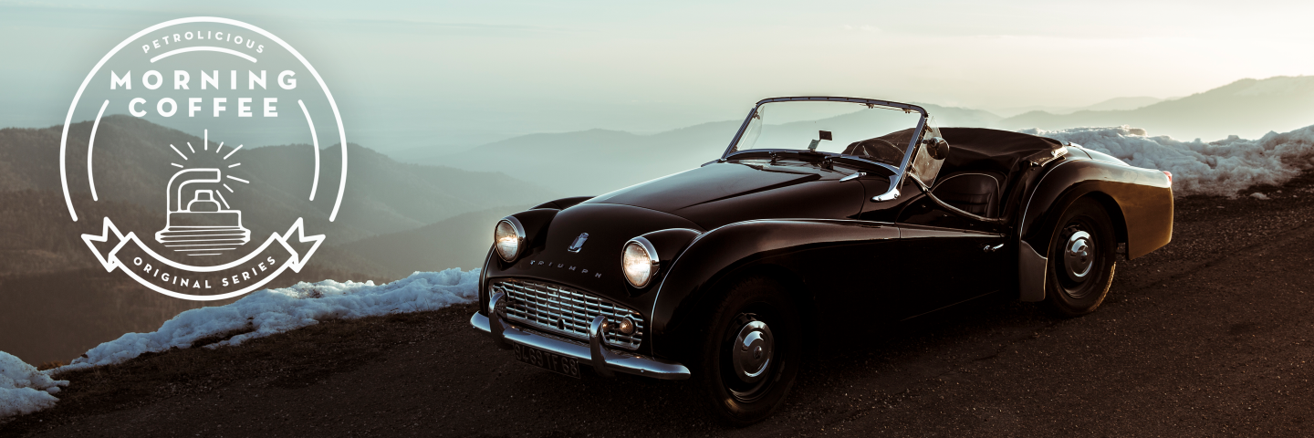 A Triumph TR3A to Warm Up a Cold Morning