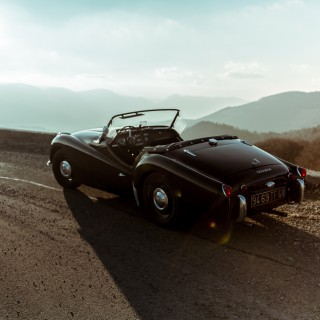 GALLERY: Behind The Scenes On Our Triumph TR3A Film Shoot