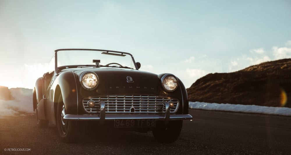 GALLERY: Behind The Scenes On Our Triumph TR3A Film Shoot • Petrolicious