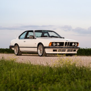 Penning A Love Letter To A BMW E24 6-Series, The 'Great White Shark'