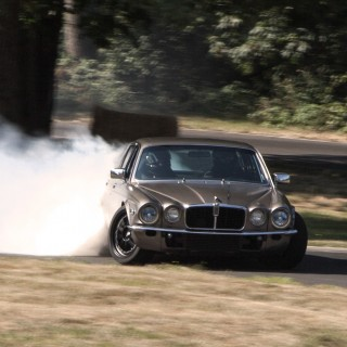 This Jaguar XJ6 Has Been Engineered To Go Sideways