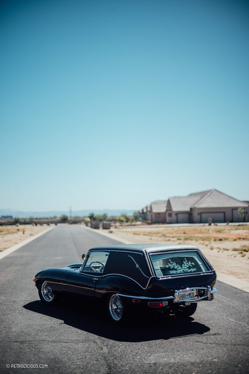 Building The 'Harold and Maude' Jaguar E-Type Hearse Was