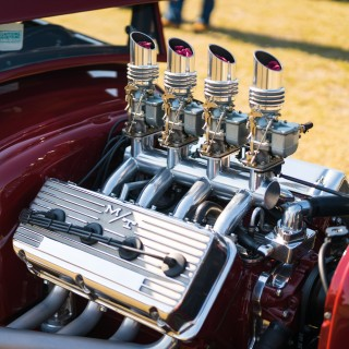 GALLERY: Caffeine and Octane On Jekyll Island Is Home To Full-Bodied American Style