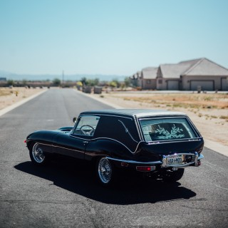 Building The 'Harold and Maude' Jaguar E-Type Hearse Was Quite The Undertaking