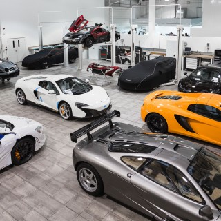 An Inside Look At McLaren's Special Operations Historical Division