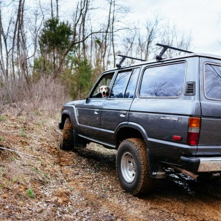 Charting Life's Ups And Downs With An FJ62 Land Cruiser And A Dog Named Hank