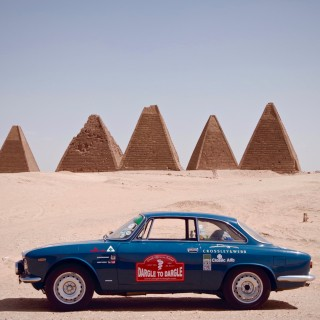 The African Alfa Romeo Crosses Into The Sudan And The Surreal