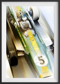 Jim Clark Lotus 49 Limited Edition Print